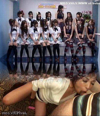 Greatest Japanese model Momoka Haneda, Ayana Kato, Yuzu Shiina in Best Gang Sex, Teens JAV flick