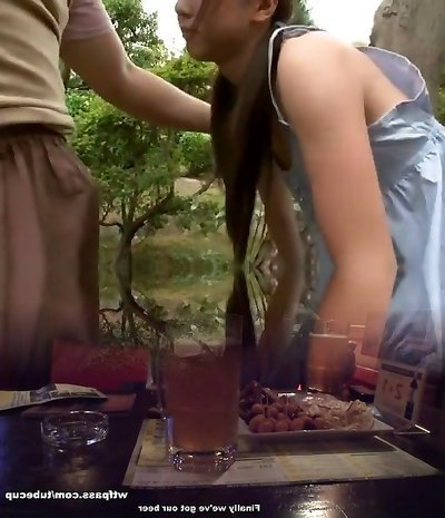 Hottest Asian model Junko Hayama in Incredible Outdoor, Finger-banging JAV movie