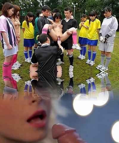 Soccer hotties get punished with beefstick and cum for mistakes - AviDolz