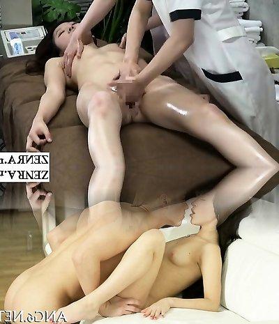 JAV CFNF lesbian massage polyclinic finger-tickling course Subtitled