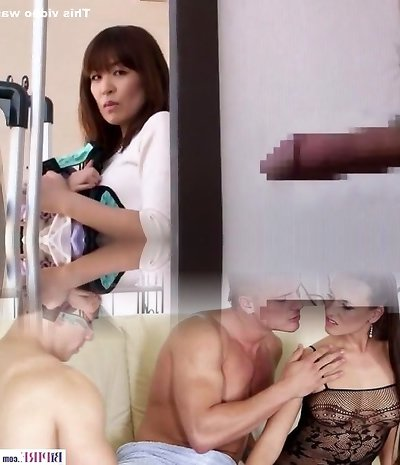 Sexy Japanese chick in Exotic Handjobs, Facial JAV flick