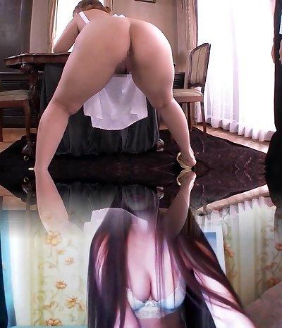 Finest Japanese model in Amazing Big Arse, HD JAV movie