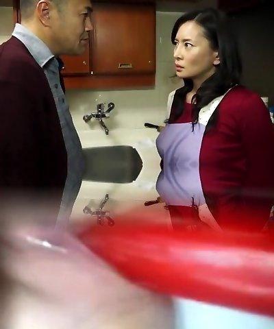 Impressive Chinese tart Rei Kitajima, Reina Konno, Kaoru Kojima in Crazy Big Tits, Wife JAV movie