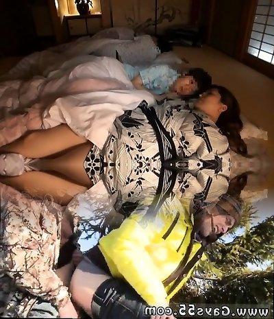 Greatest Japanese chick Hitomi Yuki, Sumire Shiratori, Reina Nakama in Hottest Fingering, MILFs JAV episode