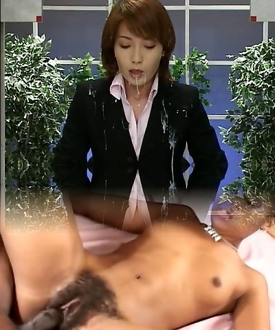 Japan News with Cumshots. Scene Two