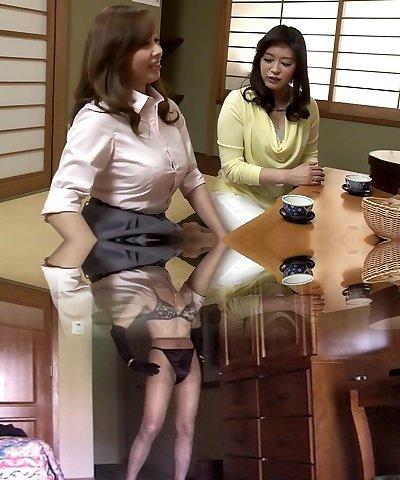 Hottest Asian girl in Extraordinaire Lesbian JAV clip