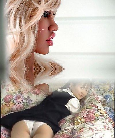 Awesome, portable realistic black brunette blonde japanese lovemaking dolls