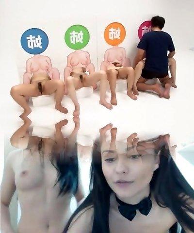 Exotic amateur Voyeur, 3 Ways sex clip