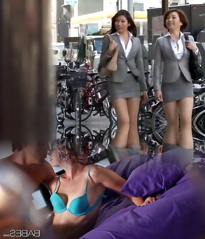 Mischievous Japanese model Azusa Maki, Kaede Imamura, Makina Kataoka in Best Compilation, Voyeur JAV video