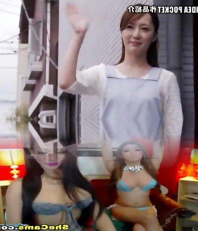 Crazy Japanese super-bitch in Epic JAV video