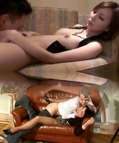 Naughty Japanese whore Jessica Kizaki in Crazy Wife, Compilation JAV vignette