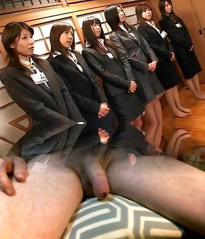 Hottest Japanese slut in Horny Compilation JAV pinch
