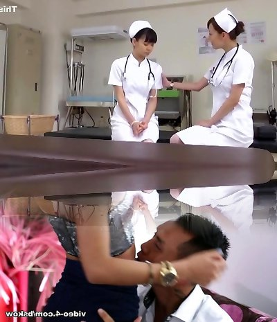Exotic Asian damsel Akari Asakiri, Nachi Sakaki, Yuki Aoi in Incredible Nurse, Medical JAV video