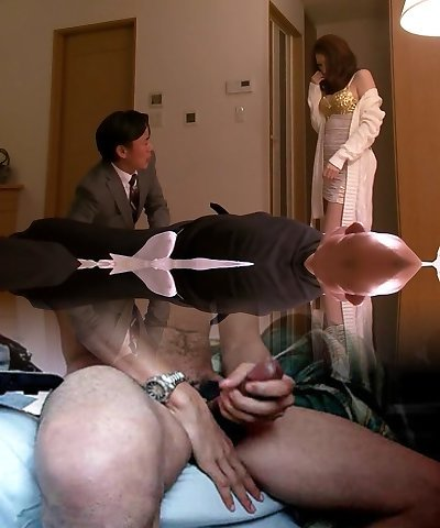 Crazy Japanese cockslut in Hottest Wife, Immense Tits JAV movie