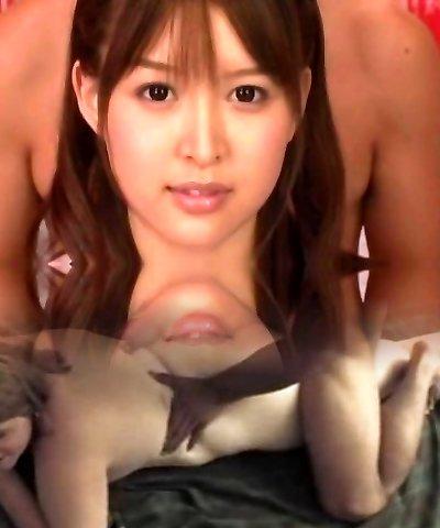 Outstanding Japanese model Tsukasa Aoi in Incredible Stockings, Anal JAV scene