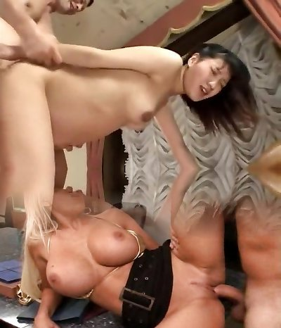 Horny Korean, Preggie xxx movie