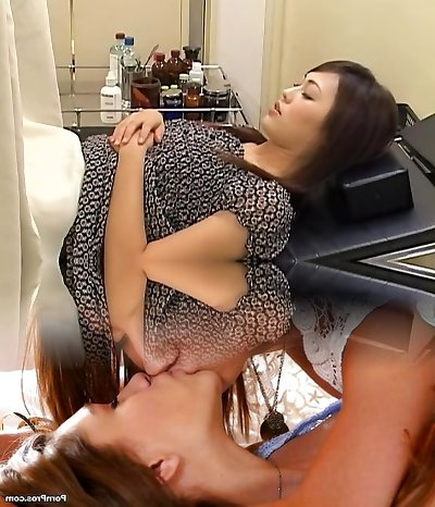 Nice hairy Chinese broad gets fucked by her gynecologist