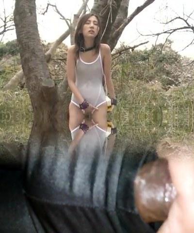 asian outdoor slave