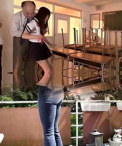 Incredible Japanese chick Tsubomi in Exotic oldie, creampie JAV movie