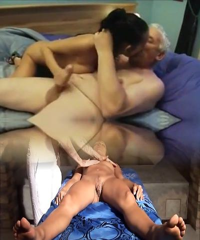 Indian girl fucked nicely by an Aged guy