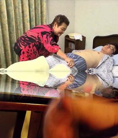 81yo Chinese granny