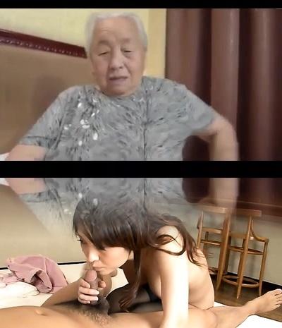 Japanese Grandmother 80yo