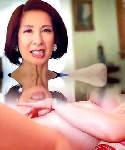 64 year old Milf Kim Anh converses about Anal Bang-out