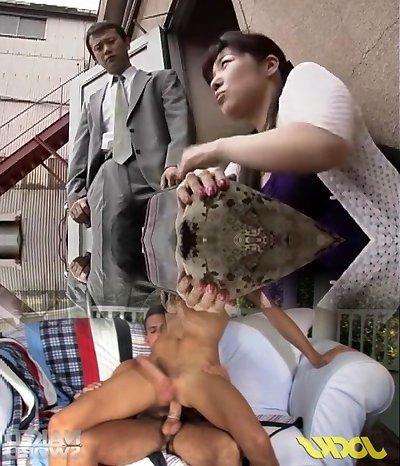 Awesome Japanese girl Ruka Uehara, Minami Aoyama in Amazing Dildos/Toys, BDSM JAV flick