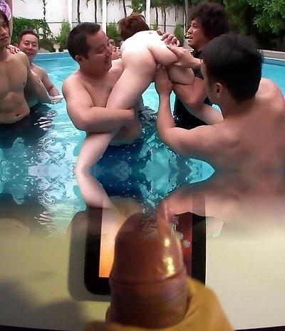 Asian bikini orgy - Dreamroom Productions