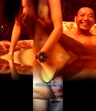 Asian orgy fucking party