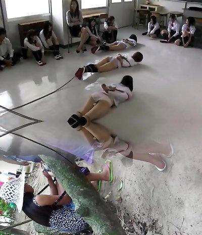 japanese school bondage