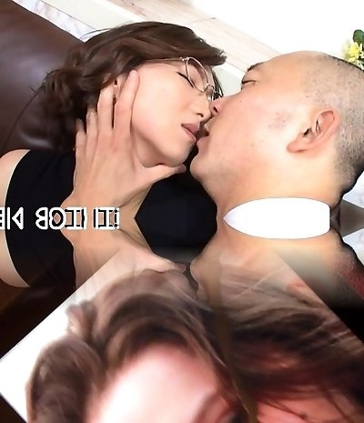 Oriental professor gets her bushy snatch fucked ans creamed