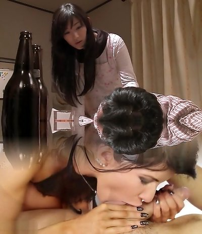 Horny Japanese nymph in Incredible Wifey JAV video