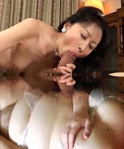 Naughty Japanese dame in Exotic Uncensored, Dildos/Toys JAV video