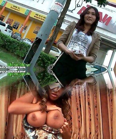 Beautiful Bashful Thai Girl Happy To Take On Big White Cock