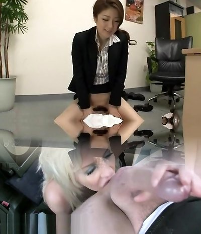 Exotic Japanese girl Ai Haneda in Finest Foot Fetish, Office JAV sequence