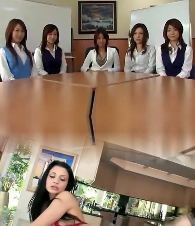 Impressive Japanese female in Incredible POV, Blowjob JAV movie