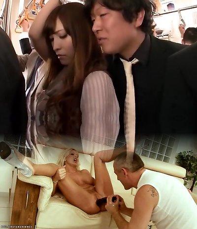 Crazy Asian girl Kokomi Sakura in Hottest Fingering, Public JAV pinch