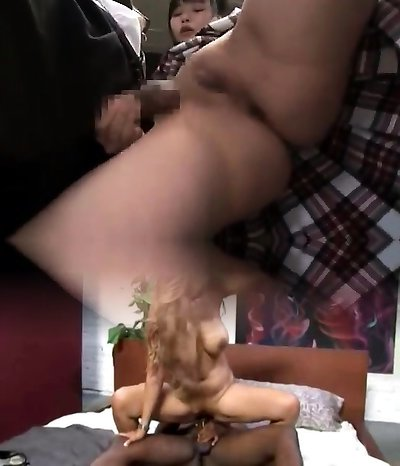 Taut asian and outdoor fuck