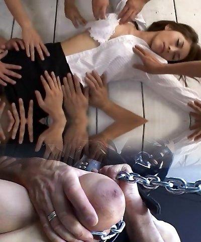Unbelievable Japanese dame Riko Tachibana in Hottest BDSM, Big Breasts JAV video