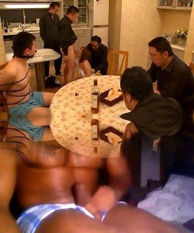 Horny Japanese doll Yui Hoshino in Crazy Suck Off JAV scene