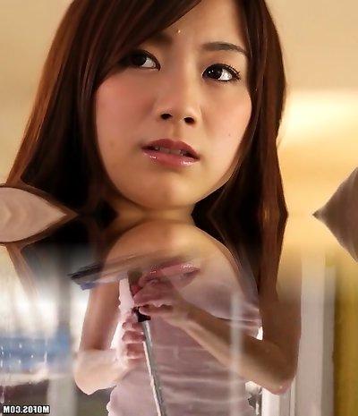 Crazy Japanese whore in Incredible Gangbang, Public JAV episode