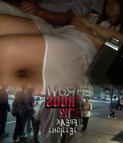 Horny Japanese female Sena Ayumu, Hinano Harumiya, Ryoka Yuzuki in Exotic Hardcore, Bus JAV vid