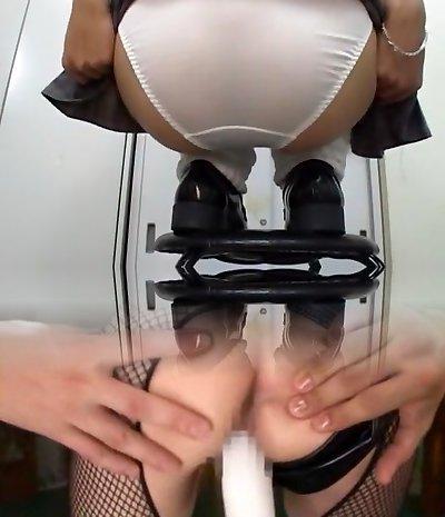 Incredible Asian breezy in Fabulous Solo Girl, Ass JAV movie