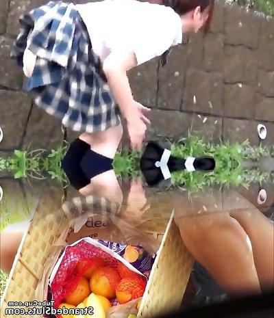 Young Japan Schoolgirl Underpants Wetting