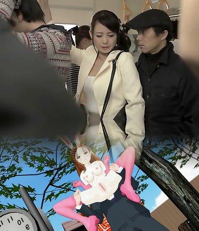 Greatest Japanese model in Super-naughty Mature, HD JAV movie