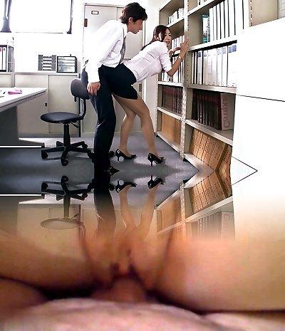 Mischievous Japanese tart Reiko Kobayakawa in Exotic JAV censored Fetish, Big Udders scene