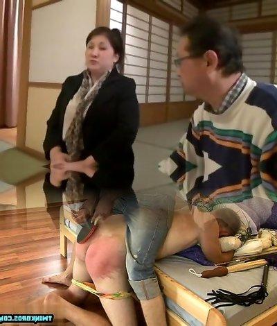 Insane Japanese model in Wild BBW JAV clip