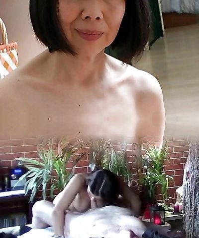 Chinese Mature with Fantastic Nipples
