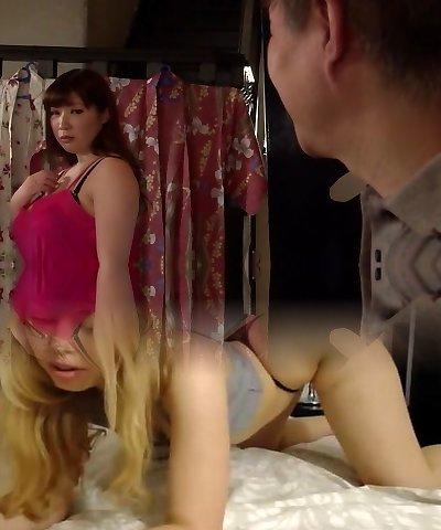 Horny Japanese lady Chitose Saegusa in Incredible public, big tits JAV video